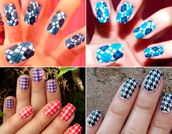 Different Patterns of Nails' Polish