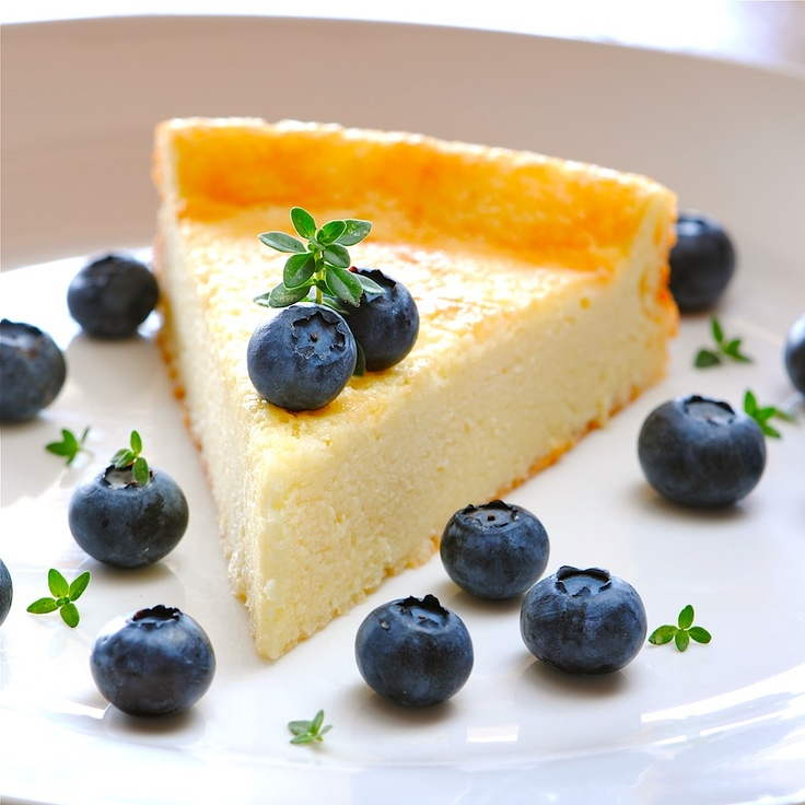 Lemon Goat Cheese Cake ...Incredibly delicious