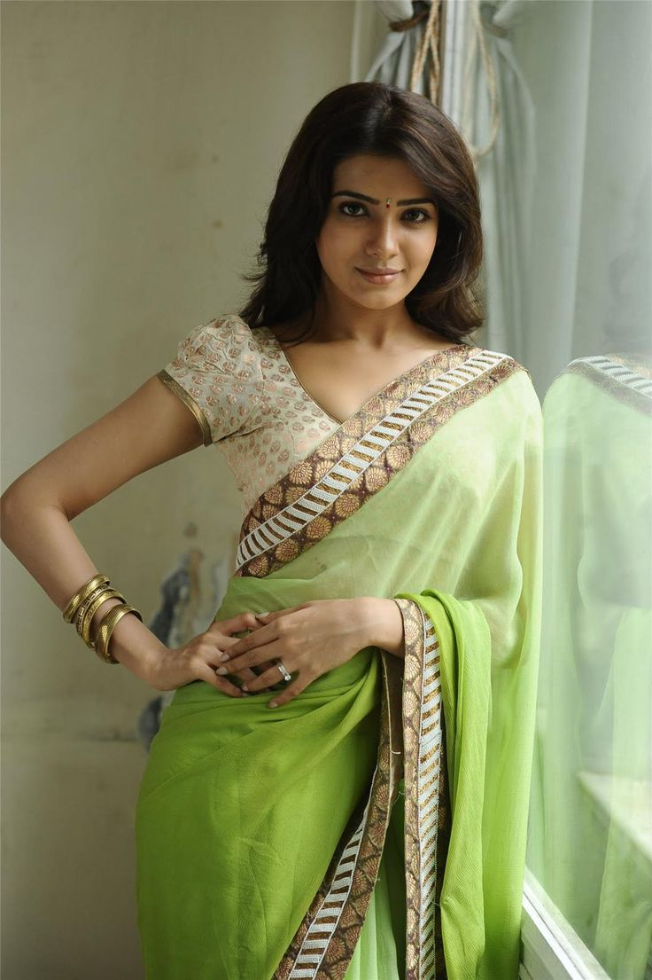 Samantha Ruth Prabhu Style Saree | More collection of Celebrity Saree Collection @ www.prafful.com