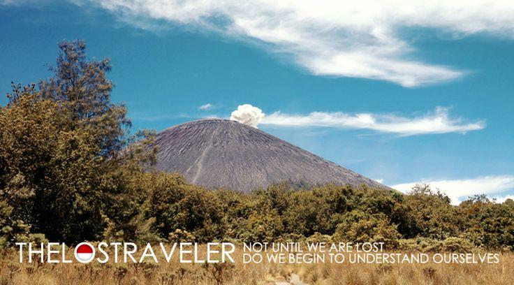 Gunung Semeru in Lumajang, Jawa Timur