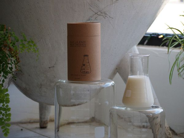 230GRAM CONICAL FLASK CANDLE | Alchemy Produx