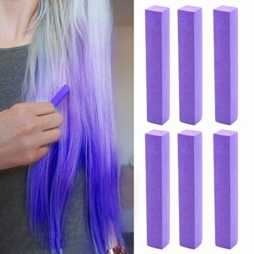 Plum Hair Dye  Burgundy Indigo Vibrant Hair Color  MISTERY Set of 6 with Shades of Aubergine Purple Set of 6 Temporary Vibrant Hair Color  Color your Hair Dark Purple in seconds with temporary HairChalk * Details can be found by clicking on the image.
