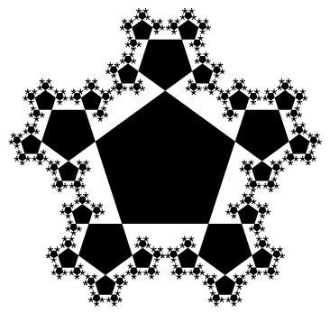 pentagonal fractal