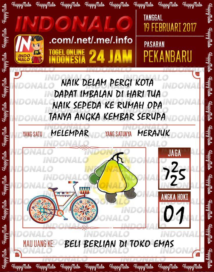 Taysen Hoki 3D Togel Wap Online Live Draw 4D Indonalo Pekanbaru 19 Februari 2017