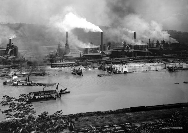 1. We HAD all the steel mills.  We don't HAVE the steel mills. These days we're a hub for technology, startups and education.