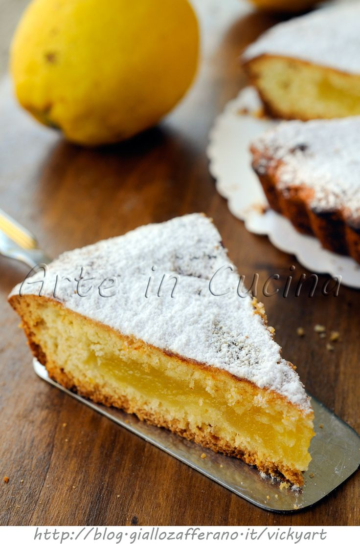 Crostata morbida di limoni ricetta facile