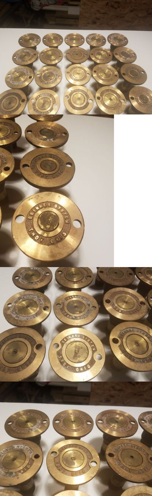 Lawn Sprinklers 20542: 20 Extremely Rare Skinner System Troy Ohio Brass Pop Up Sprinklers Never Used -> BUY IT NOW ONLY: $500 on eBay!