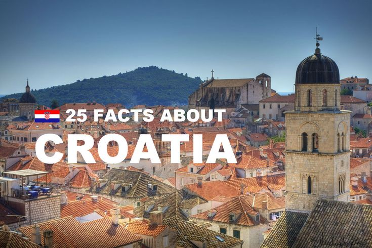 So you heard about Croatia, right? Everyone that was there fell in love with Croatian culture, food, coast and people. We all love to spend our vacation there but many don't know some less known little facts about Croatia.