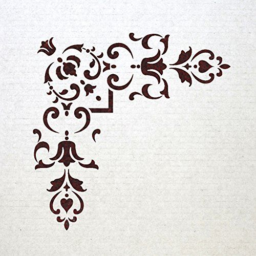 J BOUTIQUE STENCILS Corner Stencil Reusable Template 012 for Wall DIY decor J BOUTIQUE STENCILS http://www.amazon.com/dp/B00MYLLFYS/ref=cm_sw_r_pi_dp_l8bNvb0AV9957