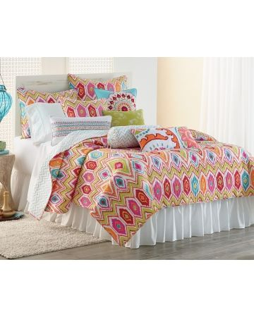 Ikat Quilt Collection Steinmart Pop Of Colorhome Decoratingbedroom