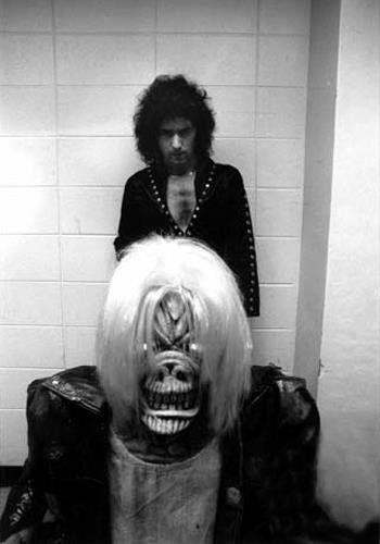Ritchie Blackmore with Eddie | mArin's metAl | Pinterest