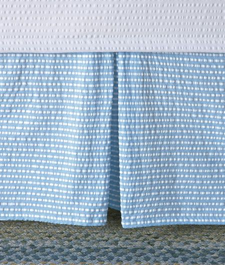 country curtains bed skirt | Dreamy Bedrooms | Pinterest