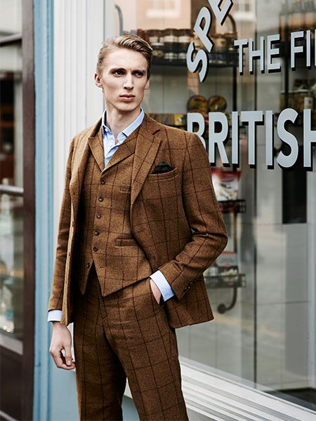 25  best ideas about Brown tweed suit on Pinterest | Tweed suits ...