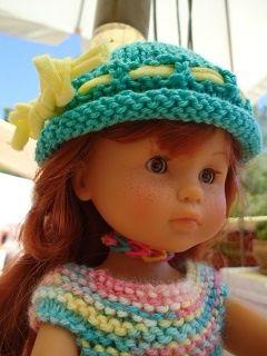 Tuto chapeau roulouté pour poupée chéries de corolle