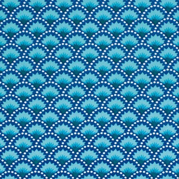 Inspiration bleue, le motif wasabi un classique Petit Pan Tissus Petit Pan 100% coton Largeur 150 cm Longueur 50 cm http://www.petitpan.com