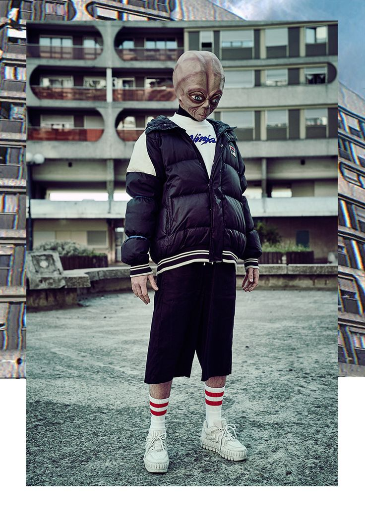 Robert-Maurice Debois is the extraterrestrial fascinated with humankind's use of social media since joining Tinder and now inspired by Gosha Rubchinskiy photographed by Brice Krummenacker and styled by Thomas Lebon, in exclusive for Fucking Young! Online.