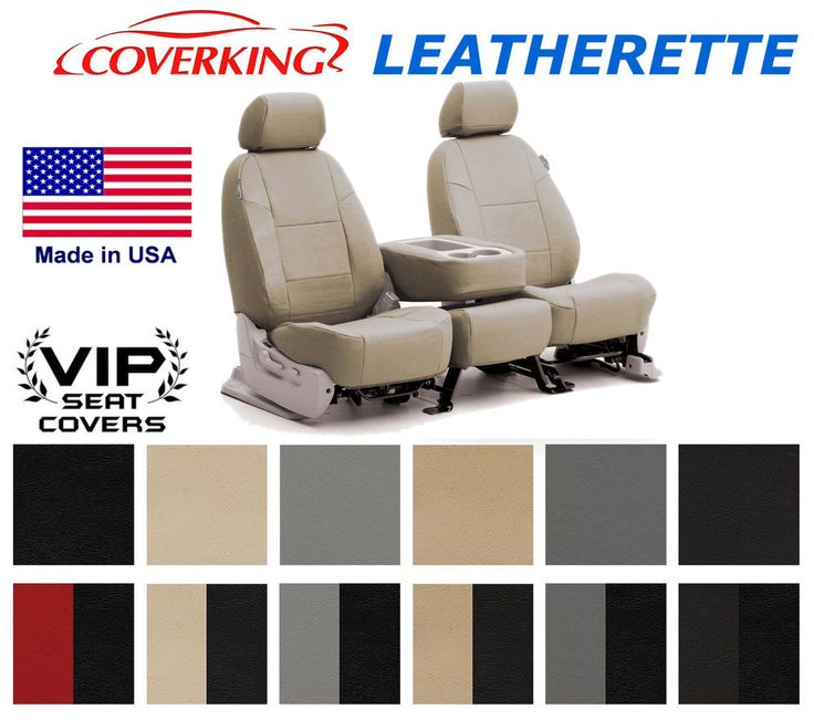 Coverking Leatherette Custom Seat Covers Ford Fiesta #Coverking