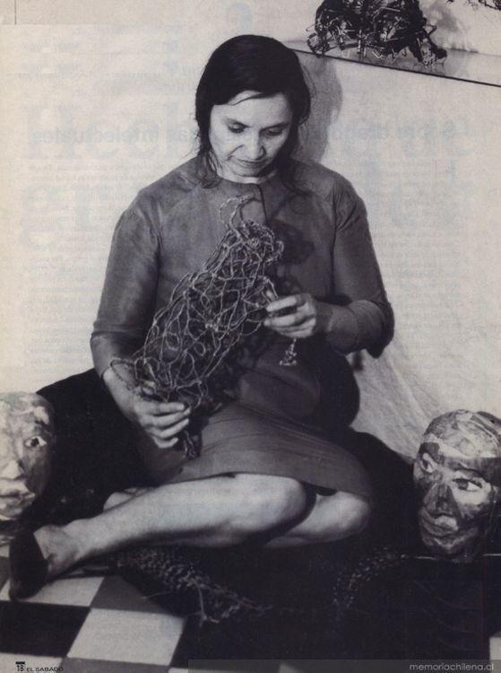 Violeta Parra, ca. 1960