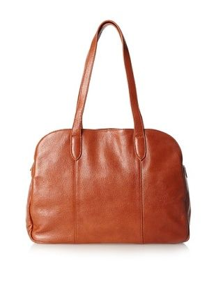 Zenith Women's Madison Classic Satchel, Cognac