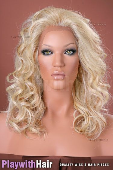 Sepia - Courtney Lace Front Synthetic Wig - Synthetic Wigs