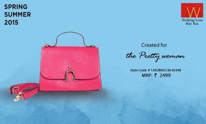 For all the ‪#‎bag‬ addicts, do check an exclusive range of W bags here http://www.wforwoman.com/products/clothing/bags-collection/