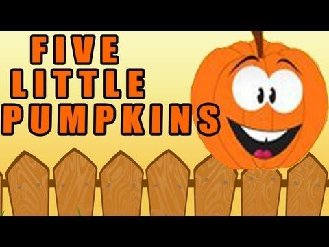 Five Little Pumpkins Sitting on a Gate - by The Learning Station  Super simple movement song that make learning to count fun and exciting.