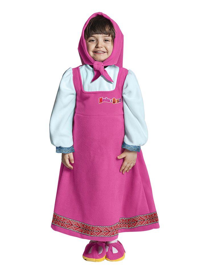 Costume Masha lusso per bambina su VegaooParty, negozio di articoli per feste. Scopri il maggior catalogo di addobbi e decorazioni per feste del web,  sempre al miglior prezzo!