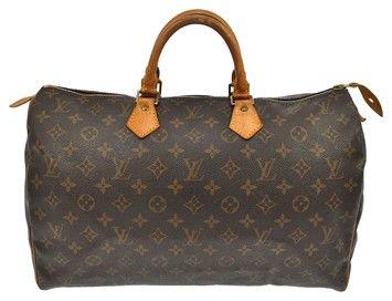 Louis Vuitton Speedy 40 Brown Bag - Satchel.