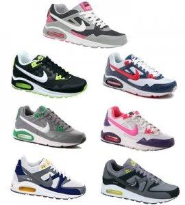Altri due modelli che non possono mancare agli intenditori di scarpe da ginnastica: Nike Air Max Skyline e Command a € 79,90 invece di € 130,00