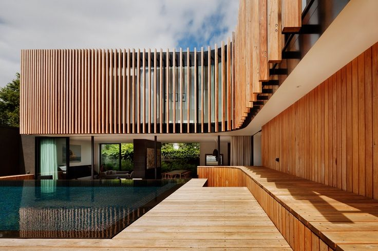 Swimming Pool in Kooyong Residence by Matt Gibson Architecture