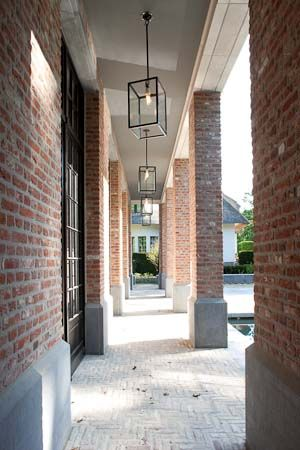 Frank Missotten, belgian architecture exterior lighting modern pendant lights