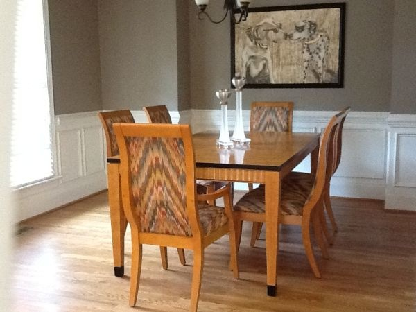 Charlotte: Lane Dining Room Table and Chairs $4300 - http://furnishlyst.com/listings/1191855
