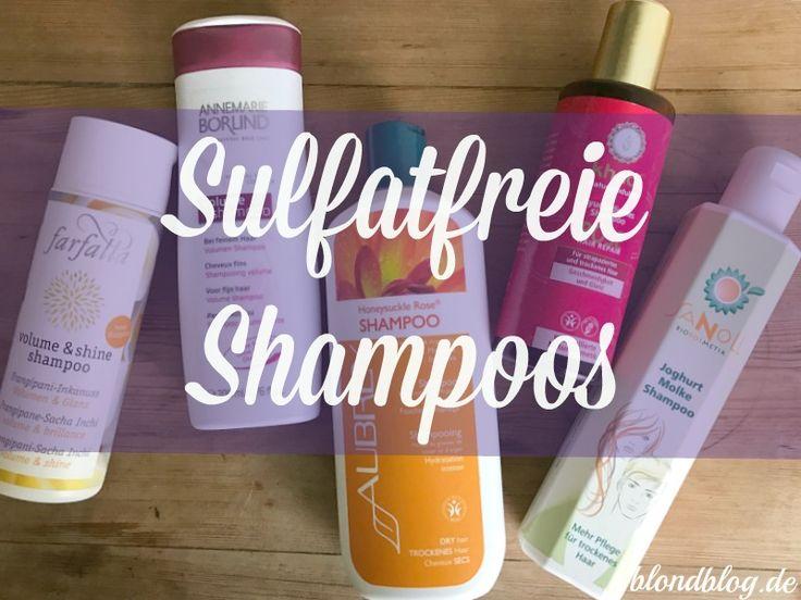 Sulfatfreie Shampoos sind besser für trockene Haare & sensible Kopfhaut