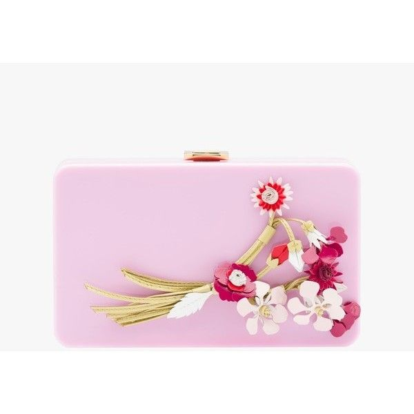 Prada Plexiglas Clutch (129.735 RUB) ❤ liked on Polyvore featuring bags, handbags, clutches, pink, pink clutches, lucite handbags, prada pochette, acrylic purse and acrylic clutches