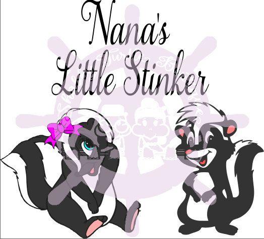 Download SVG Nana Little Stinker by ShabbyTurtleDesigns on Etsy ...