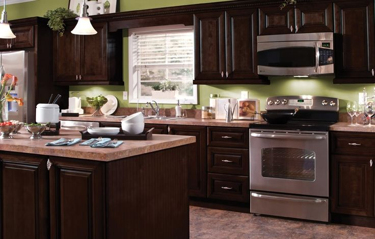 Never mess up with the chocolate maple glaze dark stain for Chocolate maple glaze kitchen cabinets