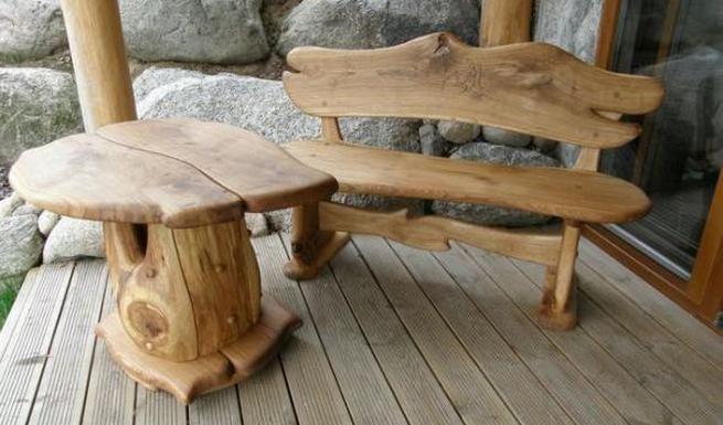Схема и устройство дворовых скамеек и стола для летней кухни - патио собранной своими руками
