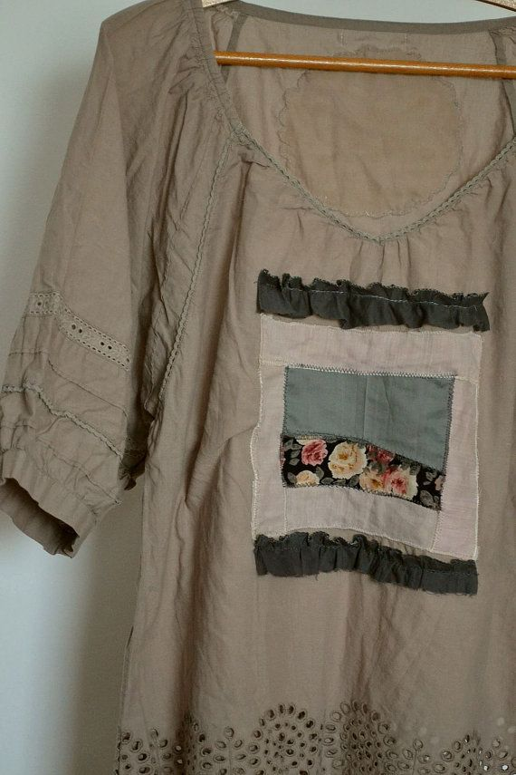 Etsy listing at https://www.etsy.com/listing/188699751/upcycled-clothing-cotton-tunic-beige