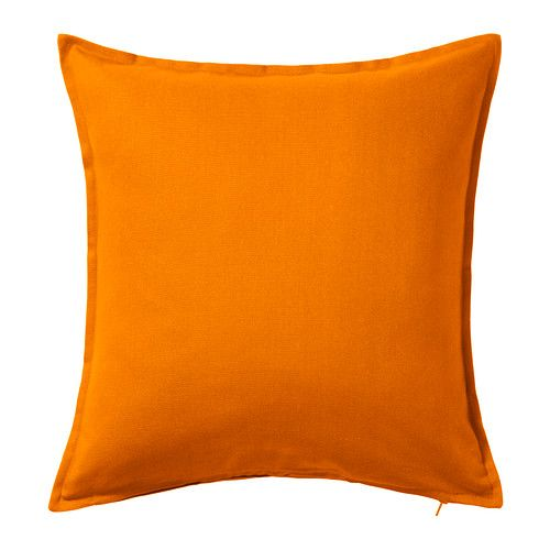 IKEA - GURLI, Cushion cover, The zipper makes the cover easy to remove. Kitchen & family room