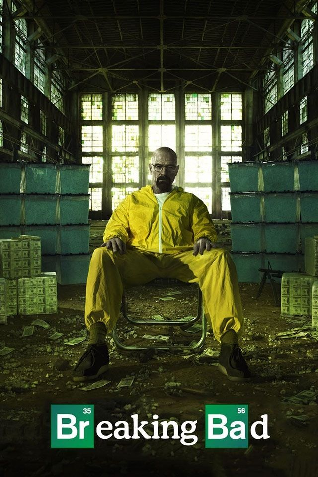Breaking Bad! can't  fucking wait for the new season to start next Sunday!