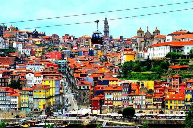 THE view !  #oporto #oportocity #landscape #travel #portugal #places #vacation #beautiful #sigh #sunny #amazing