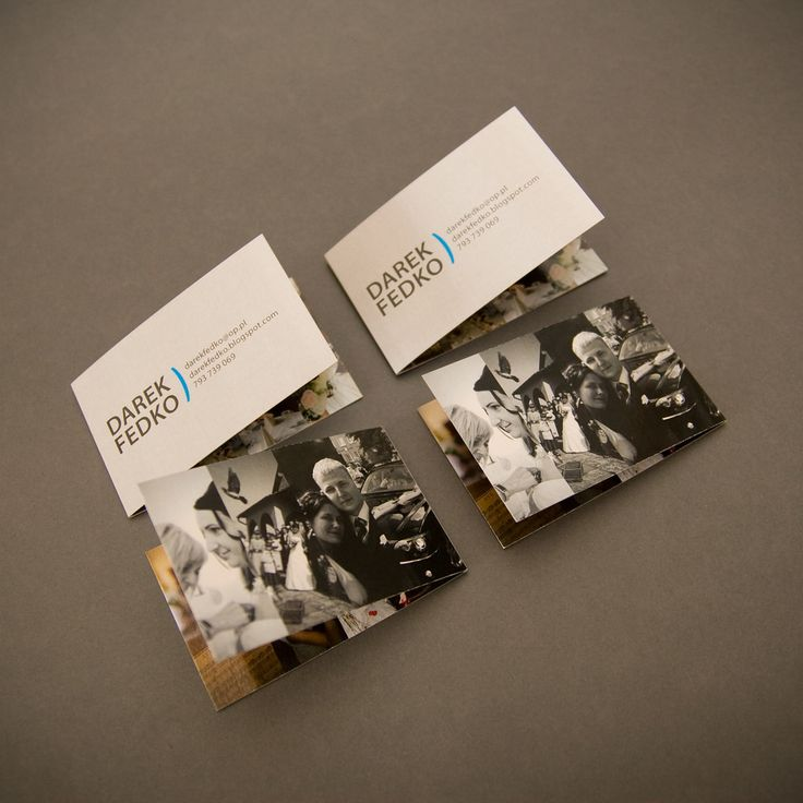 You can be creative with your business cards and make it a way of introducing yourself!