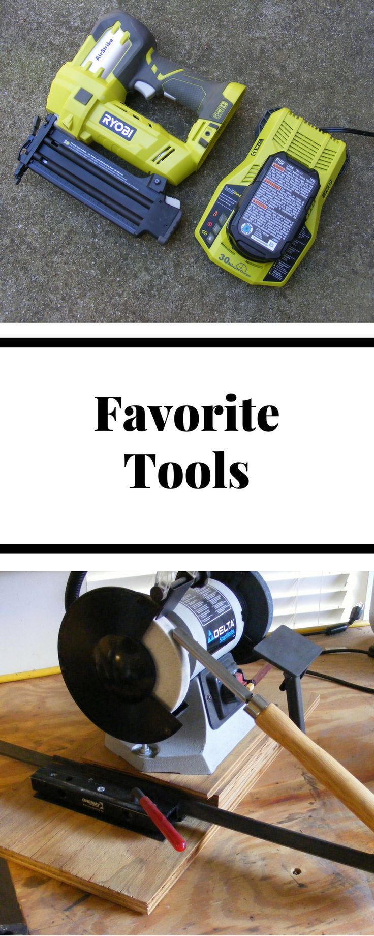DIY Woodworking Ideas A list of my favorite woodworking tools. I use these over and over on many woodw...