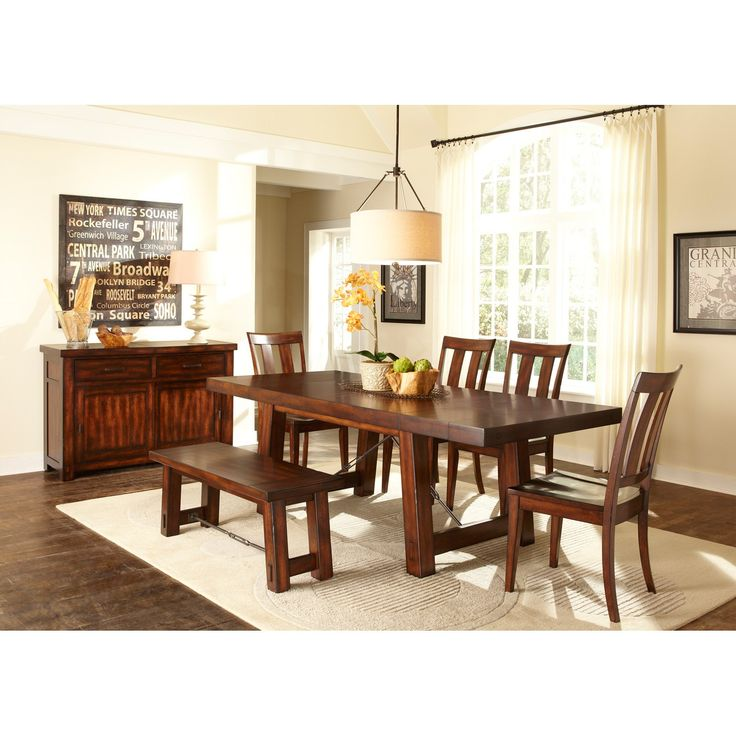 Liberty Furniture Tahoe Trestle Dining Table