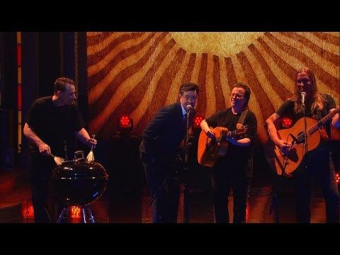 Stephen Colbert Joins Violent Femmes in a Brilliant Acoustic Version of 'Blister In the Sun'