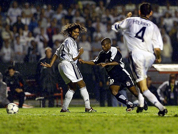 Caneta Edílson - Corinthians x Real Madrid - Mundial de Clubes Fifa 2000