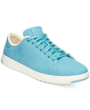 Cole Haan Grand Pro Tennis Lace-Up Sneakers - Blue 10.5M