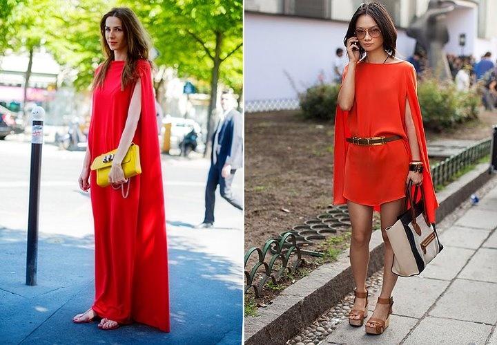orange / red: Dresses Black, Colors Dresses, Trips Dresses, Orange Dresses, Capes Dresses, Coralorangepeach Dresses, Dresses Codes