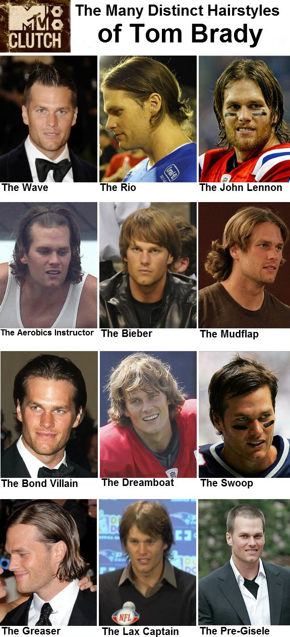 I don't care, Tom Brady looks good no matter his hairstyle.