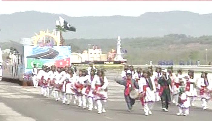 Pakistan Day celebrations begin with military parade | Pakistan - Geo.tv